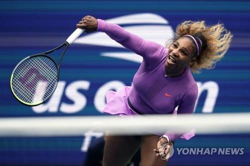 2019년 US오픈 테니스 대회에 출전한 세리나 윌리엄스.