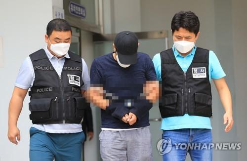 제주 30대 여성 살해 피의자 검찰 이송
