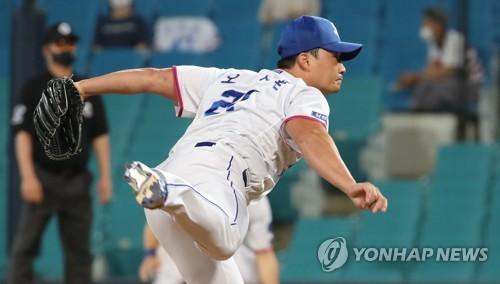 삼성 마무리 오승환의 역투