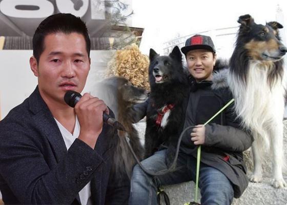 김민교의 대형견 2마리가 80대 노인을 물었던 이유.