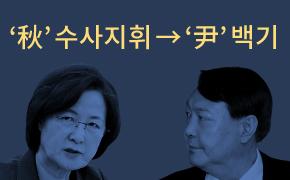 '秋' 수사지휘 → '尹' 백기