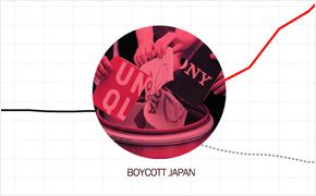 노노재팬, 일본제품 불매운동 이후 주가 변동